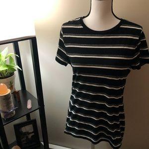 Mossimo Supply Co. Black x White Short Sleeve